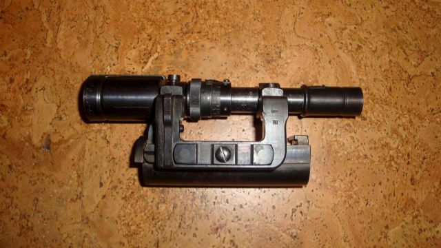Original ZF41 scope from WW2, cxn+ for Mauser k98. Good condition. No damages. Optic clear.